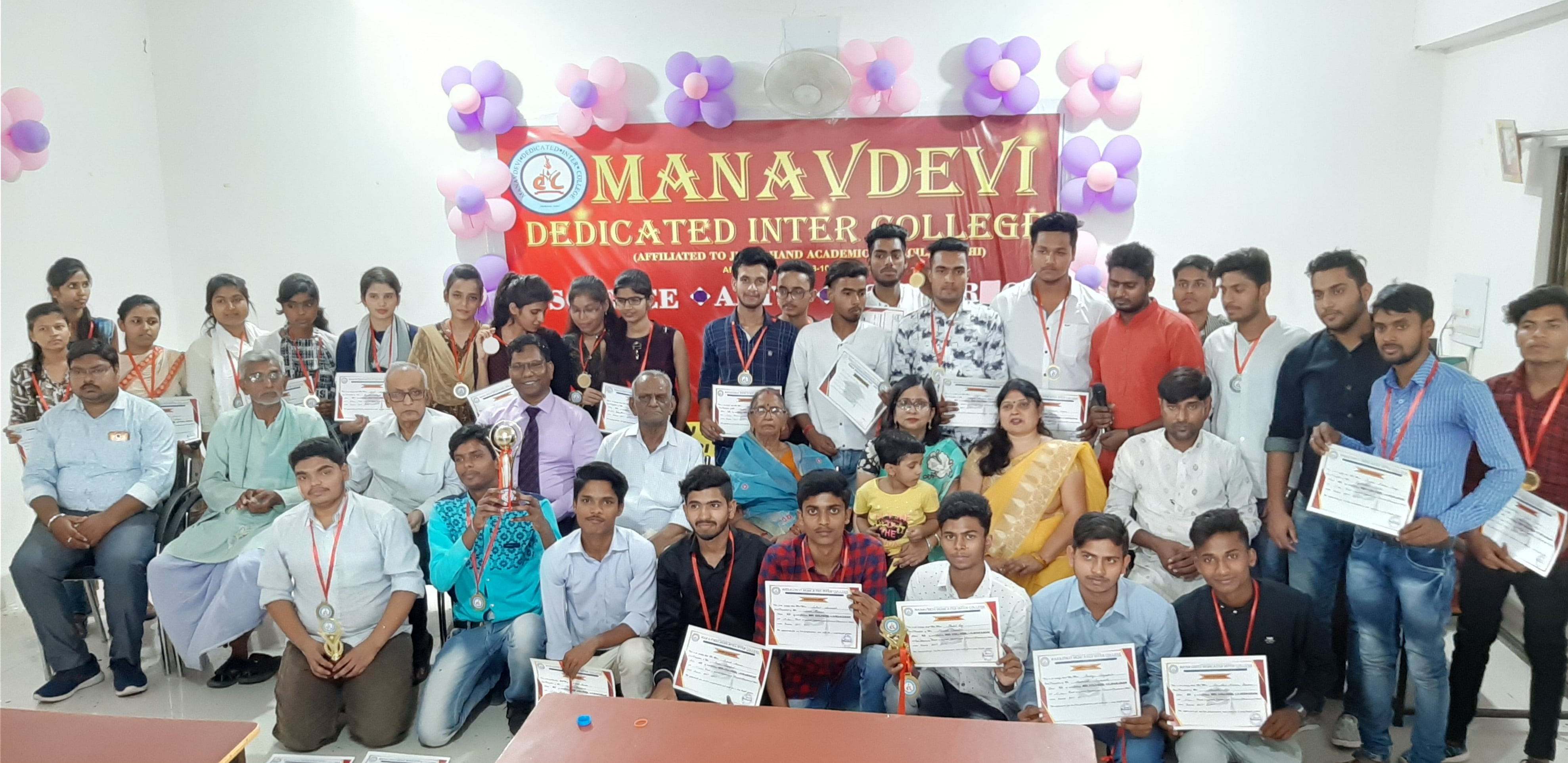 Group Photograph of all the students and Faculty Members