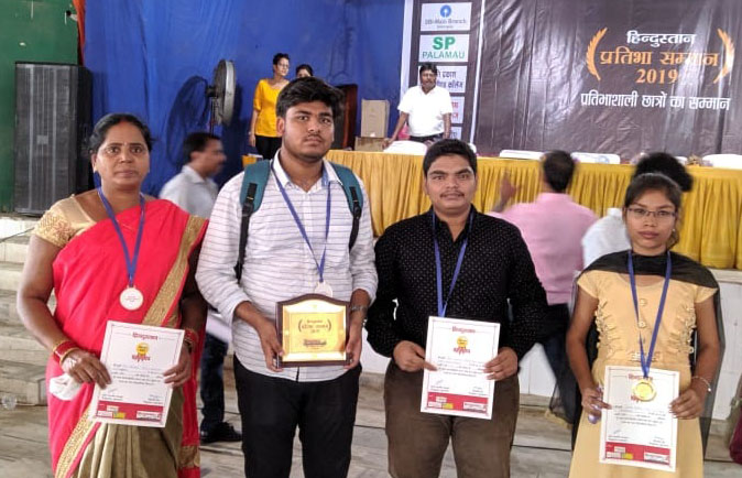 Students and Parent of a student received award